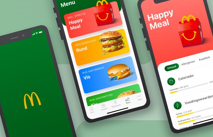 McDonalds app redesign