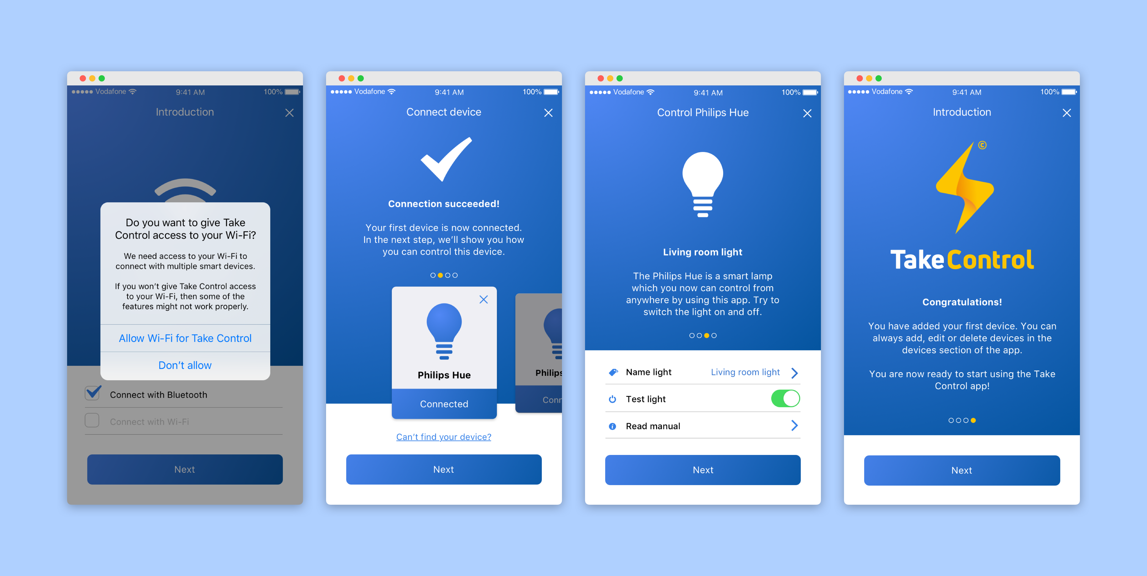 Final UX/UI Design TakeControl 2