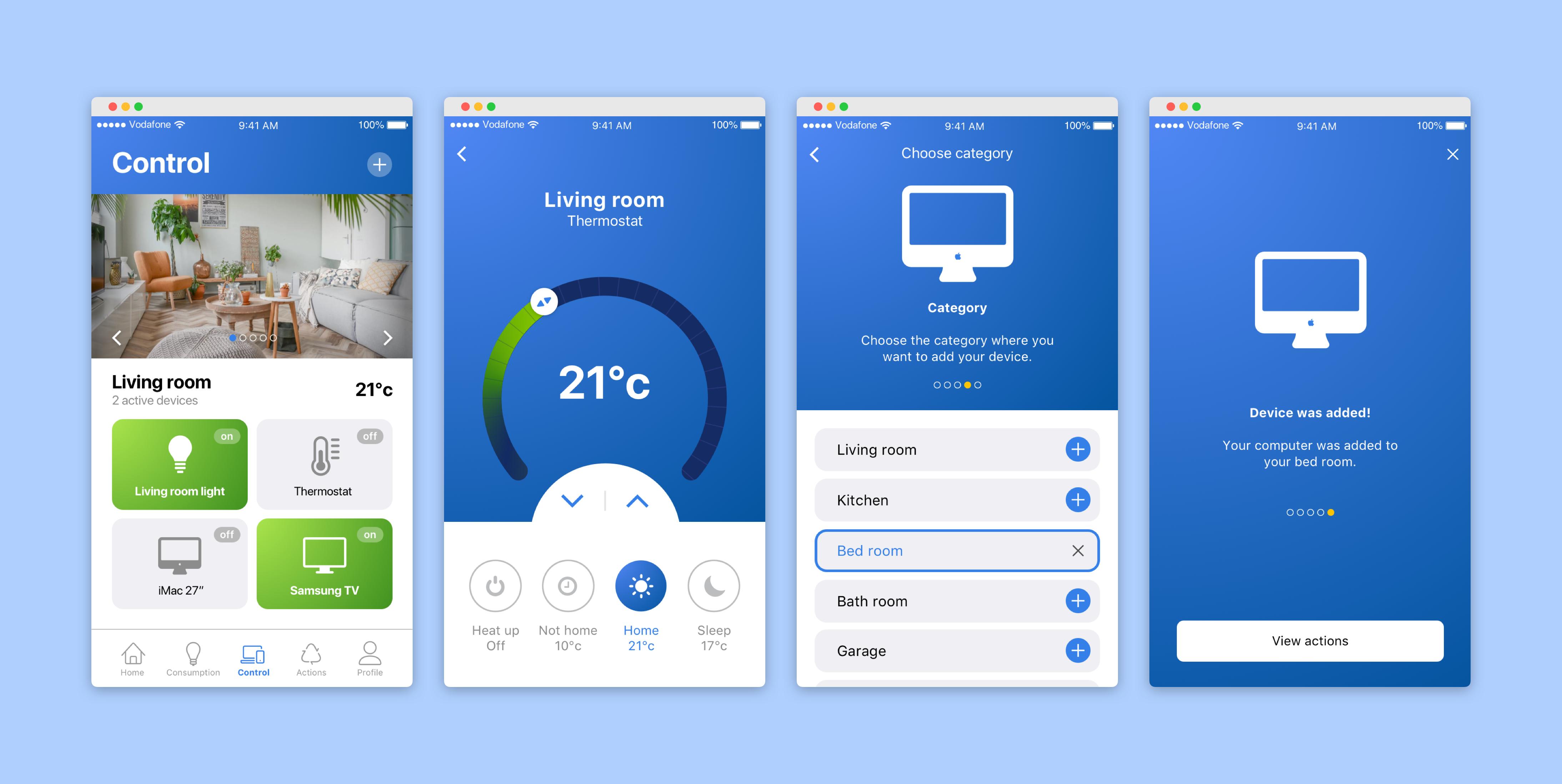 Final UX/UI Design TakeControl 3